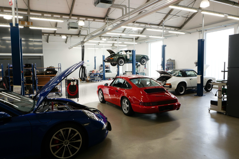 Porsche Wartung/ Service